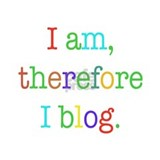 I am, therefore I blog Mug
