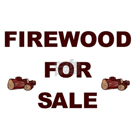 Firewood For Sale Yard Sign By Firewoodsign