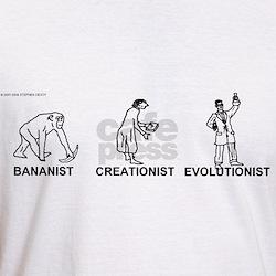 Bananist/Creationist/Evolutio Shirt