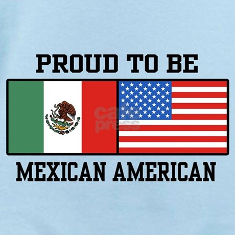 Proud Mexican American Infant Bodysuit by spunketees