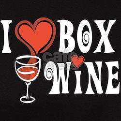 I Heart Box Wine Tee
