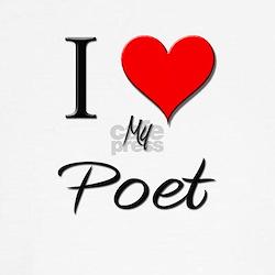 I Love My Poet T