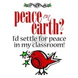 Peace in the Classroom Mug