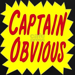 Captain Obvious Tee