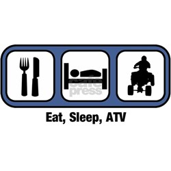 Eat Sleep Race Wallpaper Atv Bumper Bump