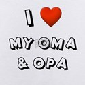 Oma and opa Baby Bodysuits