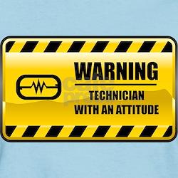 Warning Technician T-Shirt