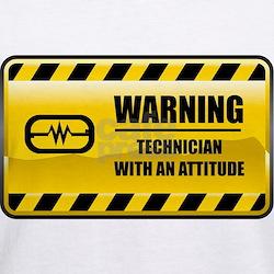 Warning Technician Shirt
