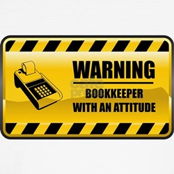 Warning Bookkeeper Shirt