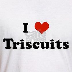 I Love Triscuits Shirt