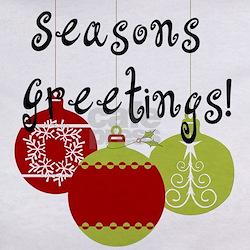 Season's Greetings Ornaments Tee