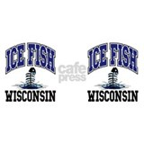 Ice Fish Wisconsin Coffee Mug