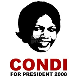 Condi Rice For President Shirt
