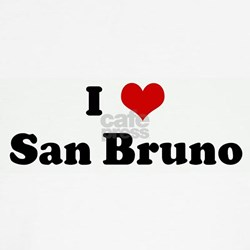 I Love San Bruno Shirt