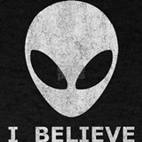 Believe alien shirt T-shirts