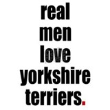 Real Men - Yorkshire Terriers Mug