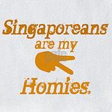 Made in singapore Bib