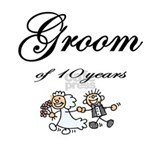 Groom of 10 Years Anniversary Gifts Mug