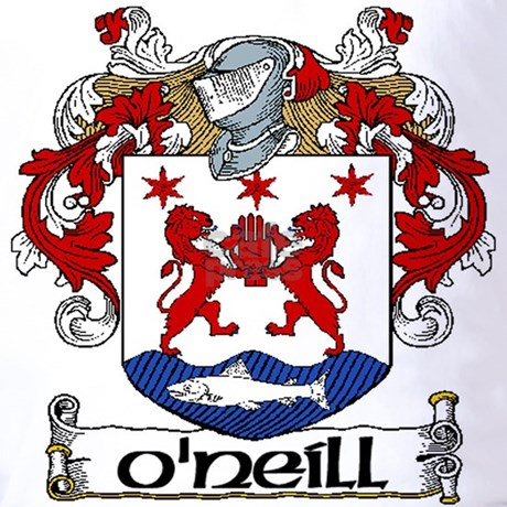 O Neill Coat Of Arms T Shirt By Irishcountry