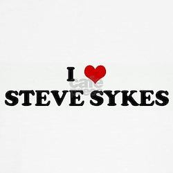 I Love STEVE SYKES T
