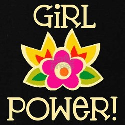 Flower Girl Power T-Shirt