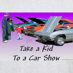 """""""Take a Kid To a Car Show"""" T-Shirt"""