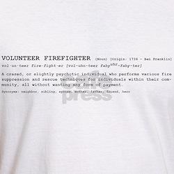 Volunteer Firefighter Definition Shirt