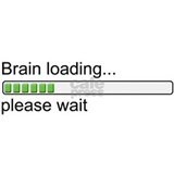 Brain loading, please wait Small Mug