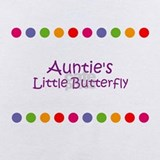 Auntie\'s little butterfly Baby Bodysuits