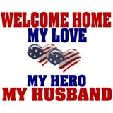 my husband welcome home Mug