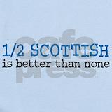 Scottish Baby Bodysuits