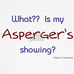Asperger's Showing 2 Tee
