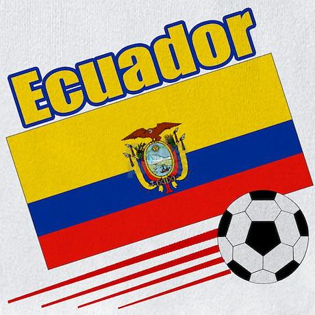 Ecuador Soccer Team Bib By Nitsupak