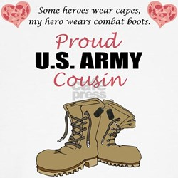 Proud US Army Cousin Shirt