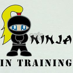 Blonde Ninja In Training T