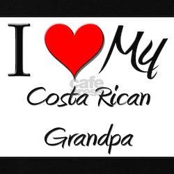 I Love My Costa Rican Grandpa T-Shirt