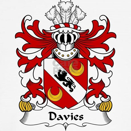 Davies Family Crest Long Sleeve T Shirt By Familycoats