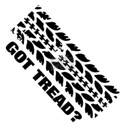 Tire Tread Bumper Stickers Car Stickers Decals Amp More