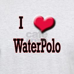 I Love (Heart) Water Polo T-Shirt
