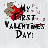 Valentines day Bib