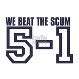 BEAT THE SCUM 5-1 Mug