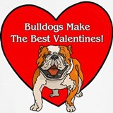 Valentines day bulldog Underwear & Panties