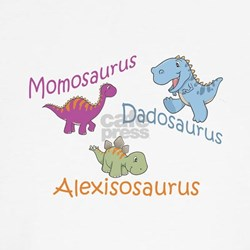 Mom, Dad & Alexisosaurus Shirt