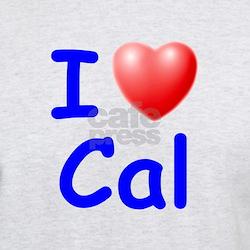 I Love Cal (Blue) T-Shirt