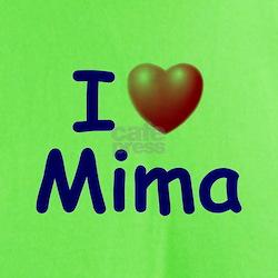 I Love Mima (Blue) T-Shirt