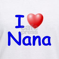 I Love Nana (Blue) Shirt