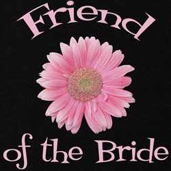 Daisy Bride's Friend T-Shirt
