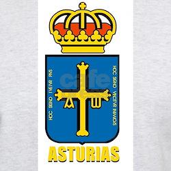 Asturias zoco Ash Grey T-Shirt