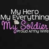 Army wife soldier shirts T-shirts