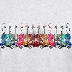 ViolinSwirls T-Shirt